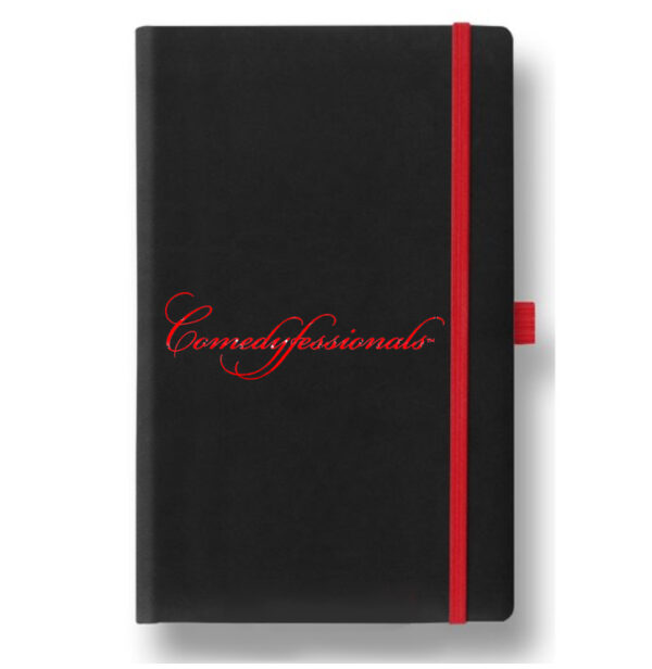 Comedyfessionals Logo Branded Standup Comedy Journal