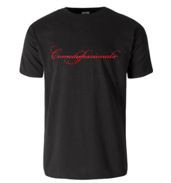 Comedyfessionals Tee Shirt Black SS